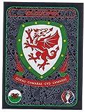 Panini EURO 2016 France - Sticker #126 (Wales, Wappen)