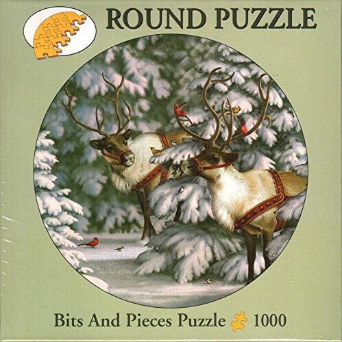 Reindeer & Feathered Friends By Liz Goodrick Dillon 1000 Piece Puzzle