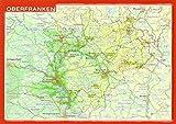 Reliefpostkarte Oberfranken - André Markgraf