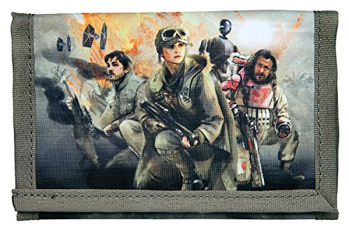 Under cover – Anelli per la scuola, Disney Star Wars Rogue One, Schultertasche (marrone) - 10112124 Geldbörse
