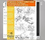 Katapult selber bauen: Deine Projektbox inkl. 54 Original-Patenten bringt Dich mit Spaß ans Ziel!