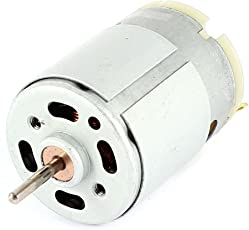 RS380 Gleichstrommotor - SODIAL(R)RS380 DC 1.5-18V 30000 RPM Micro Motor 38x28mm fuer RC Modell Spielzeug DIY, Silber