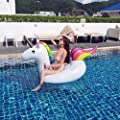 Giant Inflatable Unicorn PVC Outdoor Lounge Swimming Pool Large Toy for Adults & Kids 03