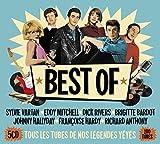 Best of - Sylvie Vartan - Eddy Mitchell - Dick Rivers - Brigitte Bardot - Johnny Hallyday - Françoise Hardy - Richard Anthony (2017)