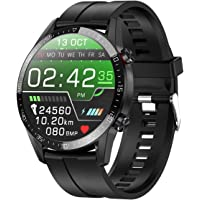 jpantech Smartwatch Uomo Impermeabile 5ATM 1.3'' Orologio Fitness Tracker Touch Screen | Chiamate Bluetooth | Monitor…