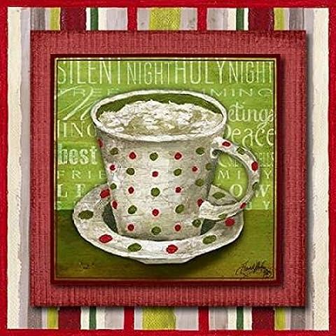 Elizabeth Medley – Taste of Christmas IV Kunstdruck (30,48 x 30,48 cm)