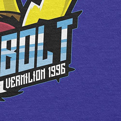 TEXLAB - Pokebolt Vermilion 1996 - Herren Langarm T-Shirt Marine