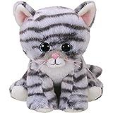 TY- Beanie Babies Millie, gato, Color gris, 15 cm (United Labels Ibérica 42304TY) , color/modelo surtido