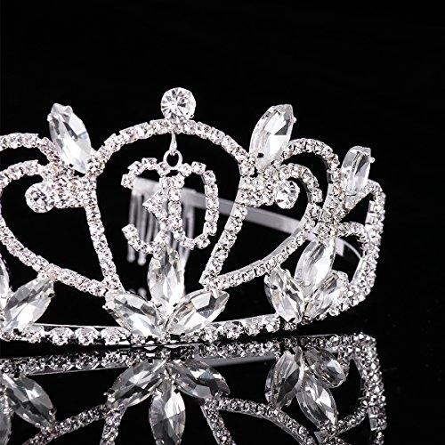 Silber Kristall Tiara Krone Frcolor Alles Gute zum Geburtstag 30