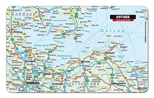 Frühstücksbrettchen Ostsee (Melamin Kochen)