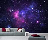 WTD Galaxy 366 x 254 cm papel pintado del universo estrellas galaxia Deco.deals