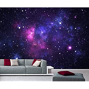 Photo Wallpaper Mural Galaxy 366x254 Cm Space Stars Universe Cosmos  Deco.deals