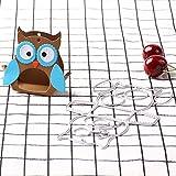Zmigrapddn da taglio, scrapbook specchio design Cartoon Owl metal goffratura DIY Paper cutting Dies goffratura cartella di plastica scrapbooking artigianato Paper Art template, Acciaio al carbonio, Silver, taglia unica