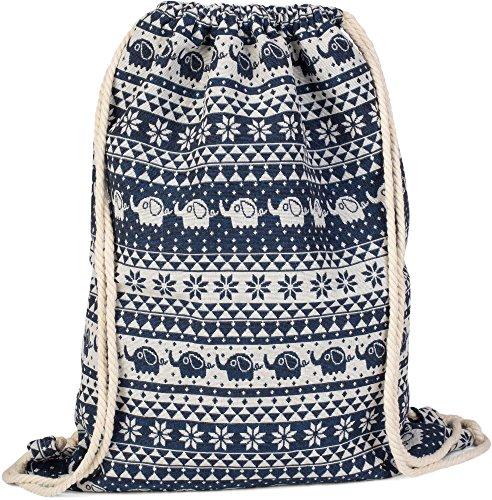 styleBREAKER bolsa de deporte, mochila en estilo boho con motivo étnico de...