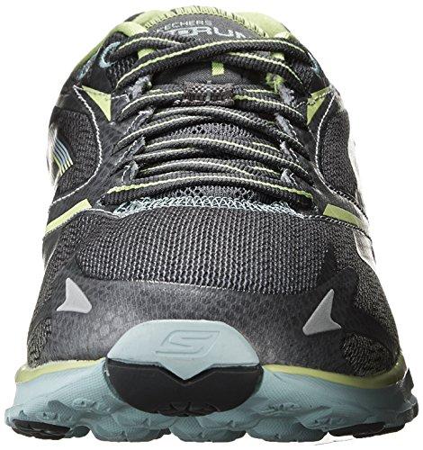 Skechers GO Run 4, Chaussures de Running Compétition femme Gris - Grau (CCAQ)
