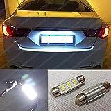 36mm 2835Soffitte Xenon Weiß LED Kennzeichenbeleuchtung CANBUS Leuchtmittel Lizenz Leuchtmittel ea7r2
