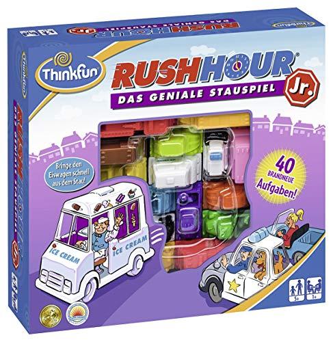 ThinkFun 76303 - Rush Hour Junior - Das geniale Stauspiel für Kinder