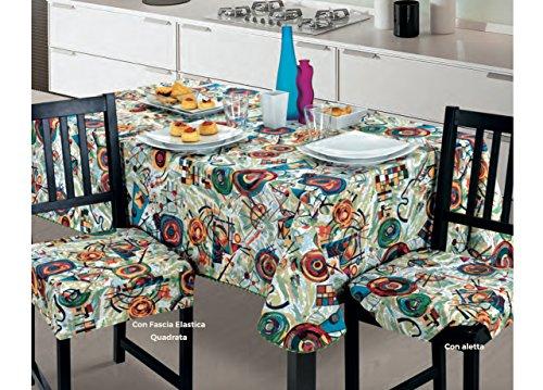Capitan Casa Set Cuscini da Cucina Modello Picture Fascia Quadrata ...