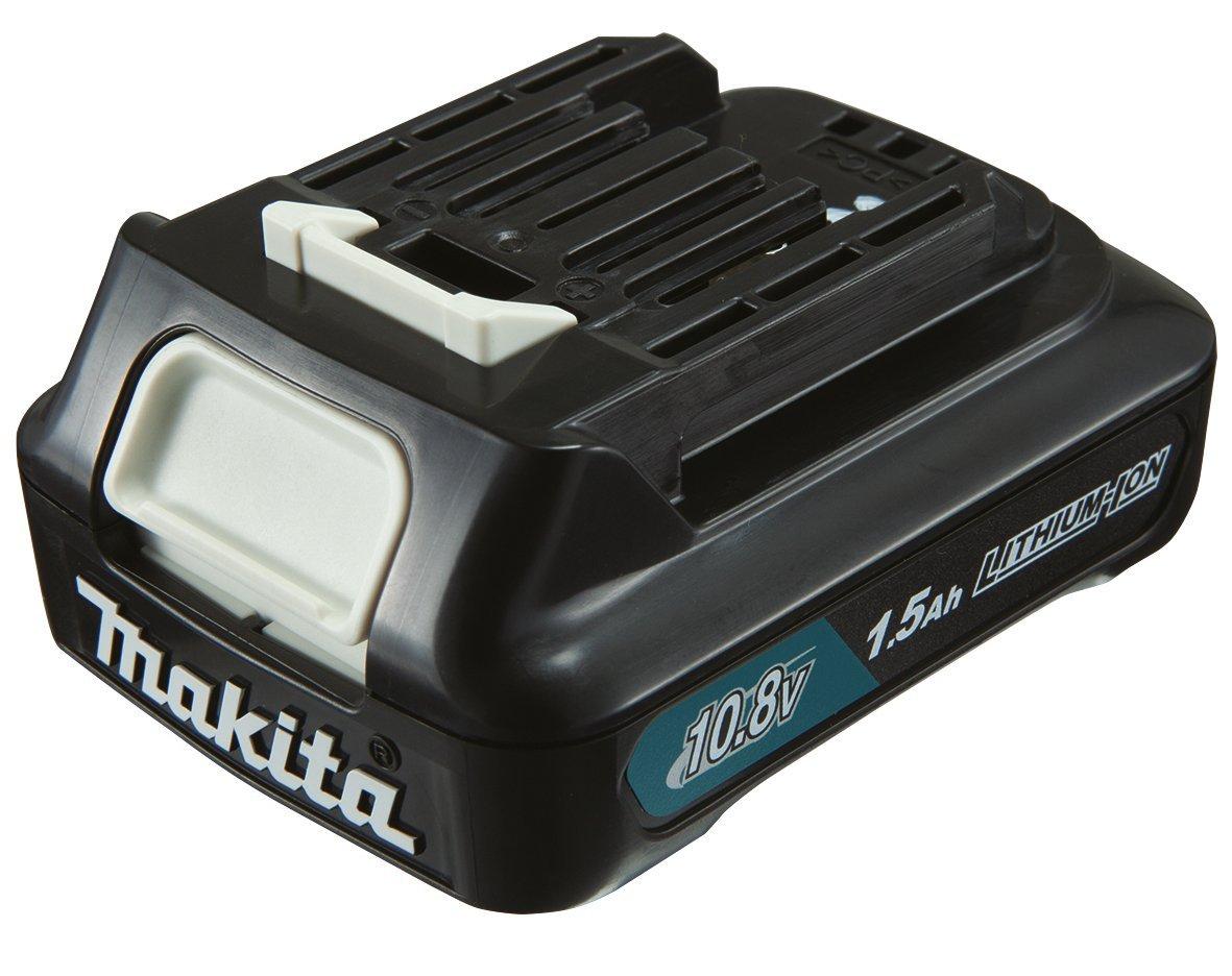 Makita Akku-Schlagbohrschrauber (10,8 V, SystemKIT mit 1 Akku 1,5 Ah, ohne Ladegerät, im MAKPAC) HP331DY1J