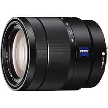 Sony SEL-1670 Vario-Tesslar T* E ZA OSS - Objetivo para Sony/Minolta (distancia focal 16-70mm, apertura f/4, estabilizador de imagen) color negro