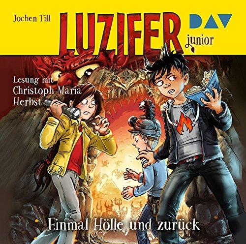 Luzifer junior - Teil 3: Einmal Hölle und zurück: Lesung mit Christoph Maria Herbst (2 CDs) (3 Ist Dies Halloween)