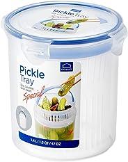 LOCK & LOCK Airtight Round Food Storatge Container, Onion Case 10.14-oz / 1.27-cup