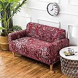 iShine Sofa Überwürfe Sofabezug mit Stretch Elastische Sofabezug Slipcover Sofa Abdeckung in verschiedene Größe und Farbe-B-140x185cm