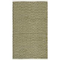 Safavieh Tappeto Intrecciato Nantucket cotone, oliva, 76x 121cm