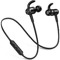 Picun Bluetooth Kopfhörer Kabellos, IPX7 Wasserdicht Kopfhörer Sport, 10 Stunden Bass Sound Magnetisches Ohrhörer Joggen…