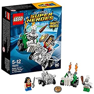 LEGO Super Heroes 76070-Mighty Micros Wonder Woman Contro Doomsday,, 76070