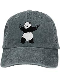 SDQQ6 Panda Guns Banksy Adult Cowboy Hat Baseball Cap Adjustable Athletic  Making Unique Hat for Men 6bf811abb0f8