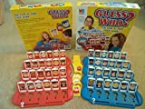 GUESS WHO ?. THE FLIP & FIND FACE GAME BY MB GAMES 2004