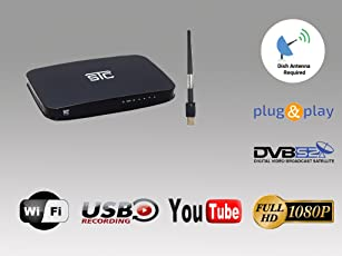STC HD MPEG 4 Digital Set Top Box + WIFI Receiver + Unlimited Recording To Air H-700