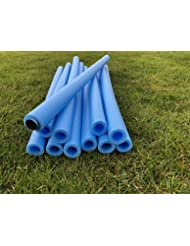 2 PACK Replacement spare parts pole tubes foam protectors for 6ft -16ft trampoline