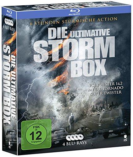 Die ultimative Storm Box - Limitiertes Boxset mit 4 Tornado-Highlights (4 Blu-rays)