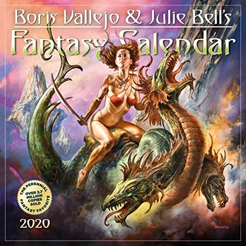 Boris Vallejo & Julie Bell's 2020 Fantasy Calendar -