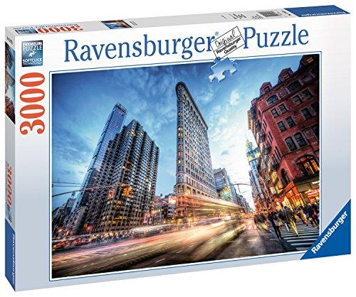 Ravensburger 17075 Flat Iron Building - York 300 New Teile Puzzle