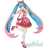 sega Hatsune Miku-serien Hatsune Miku band hjärta super premium figur figur figur 22 cm