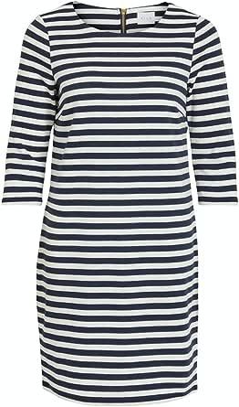 Vila Clothes Vitinny New Dress Vestito Donna
