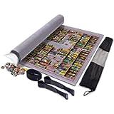 Puzzle rotolo puzzle stoccaggio mat mat, jigroll fino a 1500 pezzi, materiale amichevole ambientale per giocatore di…