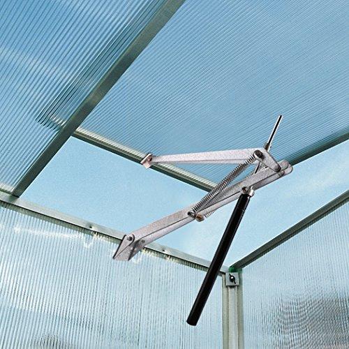 Vent Opener (BATHWA Automatischer Fensteröffner Gewächshaus Fenster Vent Opener mit Doppelfeder für Gewächshäuser und Gartenhäuser)