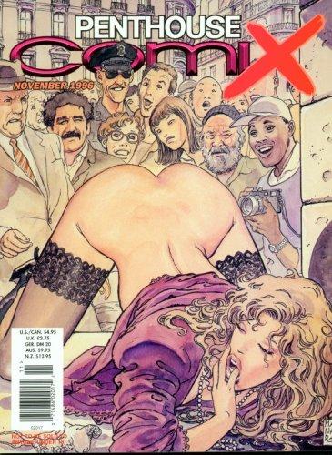 Penthouse Comix November 1996 Milo Manara Cover