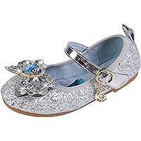 AIYIMEI Scarpe con Piatto Ragazza Ballerine Bambina Cerimonia Festa Lustrino Nozze Scarpe da Principessa Elsa Eleganti…