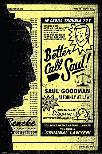 Empire, Poster, motivo: Breaking Bad - Better call Saul, Multicolore (Bunt), 61 x 91,5 cm