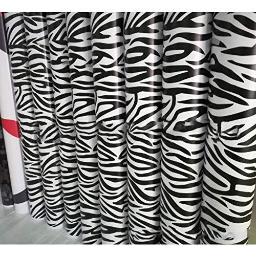 CAR DECORATION Auto Schwarzweiss-Zebra-Tarnungsfilm Schwarzweiss-Plaid-Spion-Foto-Aufkleber-Neuer Auto-Test Anti-Sneak Schusskörper-Farbfilm