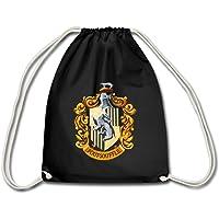 Harry Potter Emblème Poufsouffle Peinture Sac à dos cordon