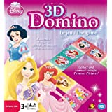 Disney Princess 3D Picture Dominos - Juego de tablero Disney, 2 o más jugadores (Wonderforge WFI01098) (versión en francés)