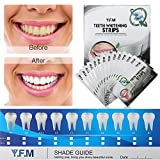 Teeth Whitening Strips Y.F.M. 28 Bright Smile White Strips Charcoal Tooth Whitening Treatment, Teeth Care Kit