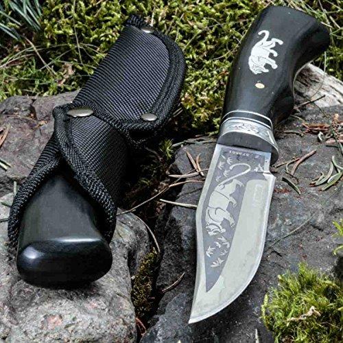 KanDar - FB985B-2 • JAGDMESSER • FESTSTEHENDE Messer • Gesamtlänge: 260mm • TM-SW.