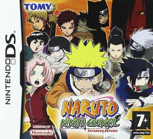 Naruto: Ninja Council - European Version